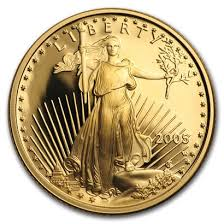 2005 1/4 oz Gold Proof EAGLE- Capsule