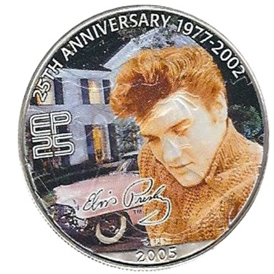 2005 1oz Silver Eagle - Elvis - 25th Anniversary