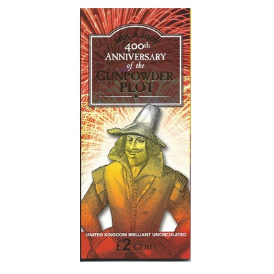 2005 BU £2 Coin Pack - 400th Anniversary of the Gunpowder Plot