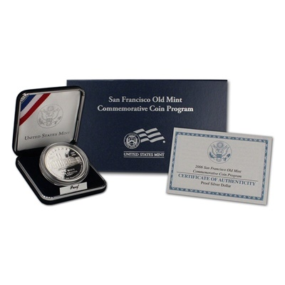 2006 San Francisco Old Mint Silver Proof $1