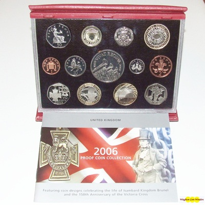 2006 Royal Mint Deluxe Proof Set