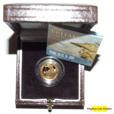 2006 Gold Proof 1/10th oz Britannia