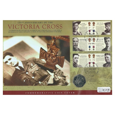 2006 BU 50p Coin - 150th Anniversary Victoria Cross (Awards)