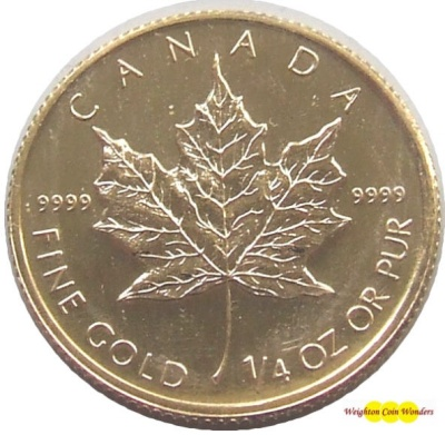 1986 1/4oz Gold MAPLE
