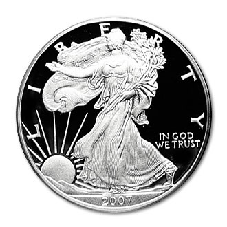 2007 USA 1oz Silver Proof EAGLE