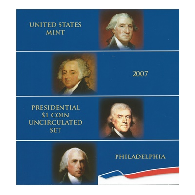 2007 Presidential $1 Coin Uncirculated Set (P)