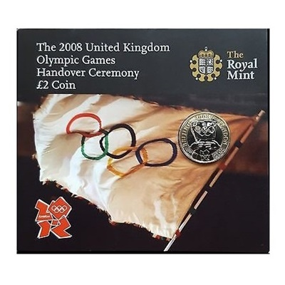 2008 BU £2 Coin Pack - Olympic Games Handover Ceremony