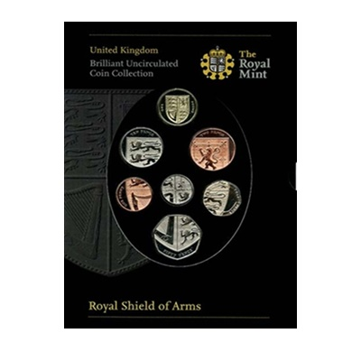 2008 Brilliant Uncirculated Coin Set - Royal Shield of Arms