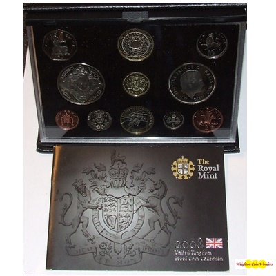2008 Royal Mint Deluxe Proof Set