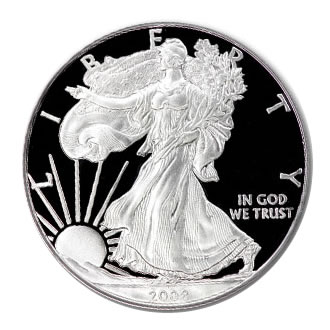 2008 USA 1oz Silver Proof EAGLE