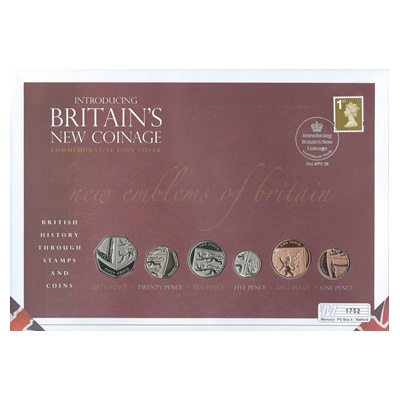 2008 Introducing Britain's New Coinage Commemorative