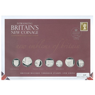 2008 Silver Proof - Introducing Britain's New Coinage