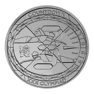 2009 £5 - Countdown to London 2012