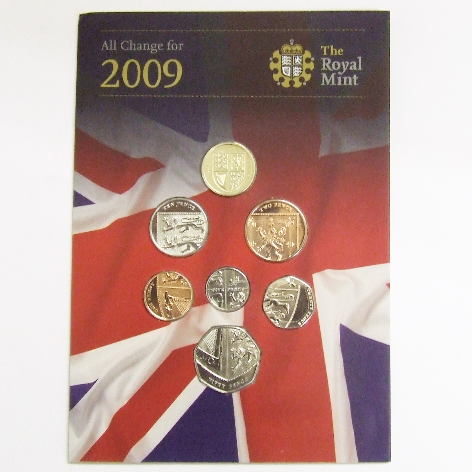 2009 Royal Shield of Arms - All Change for 2009 BU Pack