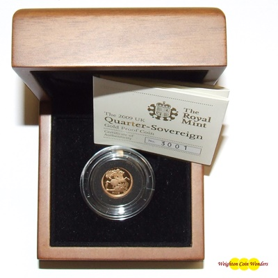 2009 Gold Proof 1/4 SOVEREIGN
