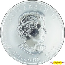 2009 1oz Silver Maple