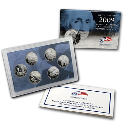 2009 USA State Quarters Proof Set (District of Columbia)