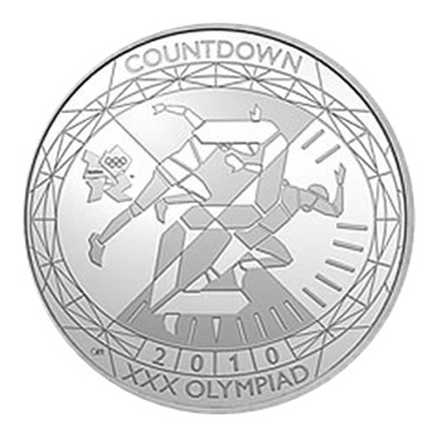 2010 £5 - Countdown to London 2012