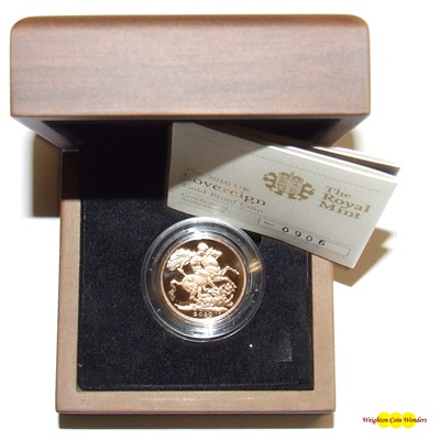 2010 Gold Proof SOVEREIGN