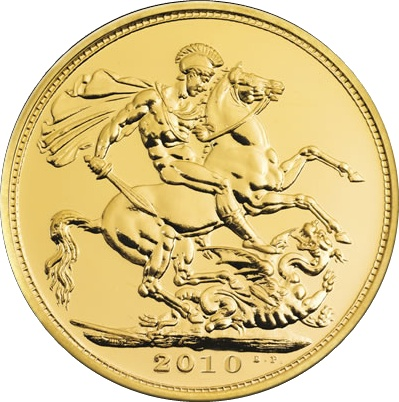 2010 Gold SOVEREIGN