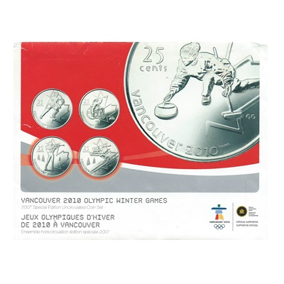 2007 Special Edition Uncirculated Coin Set - Vancouver 2010