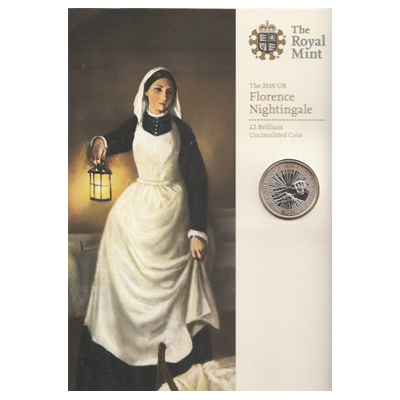 2010 £2 BU Coin Pack - Florence Nightingale