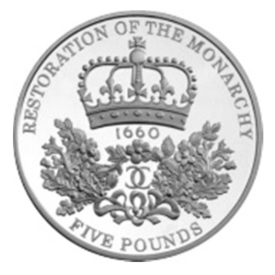 2010 £5 - Restoration of the Monarchy
