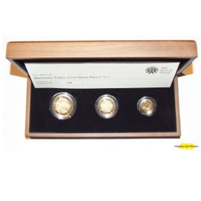 2010 Gold Proof BRITANNIA 3 Coin Set