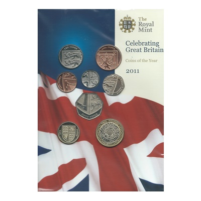 2011 Brilliant Uncirculated Coin Set (Definitive)