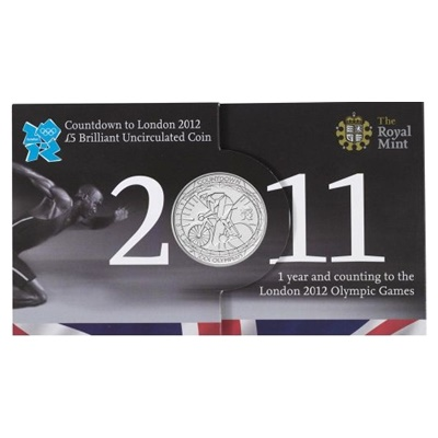 2011 Countdown to London 2012 £5 Presentation Pack