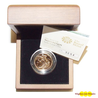 2011 Gold Proof SOVEREIGN