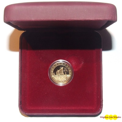 2011 Gold Proof €50 - EXPLORERS 'THE PHOENICIANS IN MALTA'