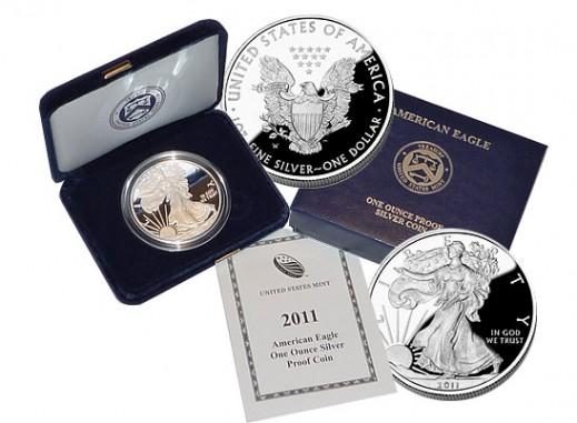 2011 USA 1oz Silver Proof EAGLE