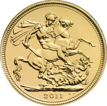 2011 Gold SOVEREIGN - Now In Stock