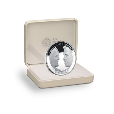 2011 Silver Proof £5 Crown - The Royal Wedding