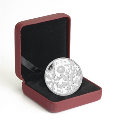 2012 $20 Fine Silver Coin - Holiday Snowstorm