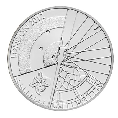 2012 £5 - Official London 2012 Paralympic Games