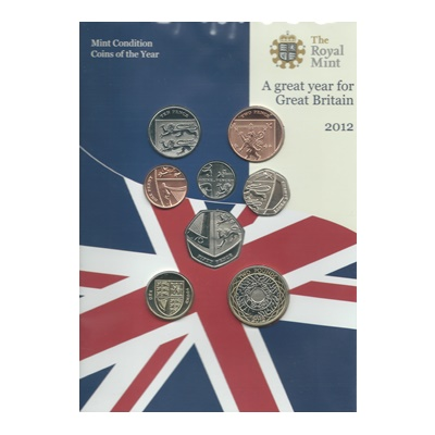 2012 Brilliant Uncirculated Coin Set (Definitive)