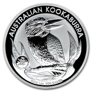 2012 Silver 1oz KOOKABURRA - Dragon Privy