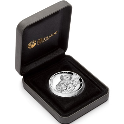 2012 1oz Silver Proof KOALA - HIGH RELIEF Edition