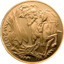 2012 Gold SOVEREIGN - New Design