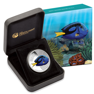 2012 1/2oz Silver Proof SEA LIFE II - SURGEON FISH