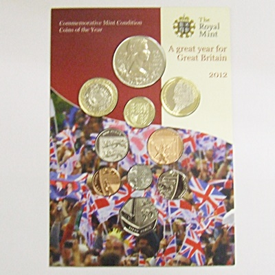 2012 Brilliant Uncirculated Coin Set