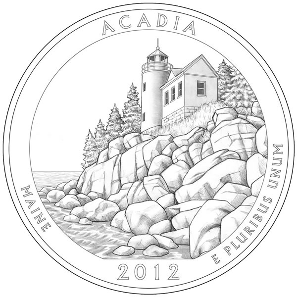 2012 (D) Acadia National Park (Maine)