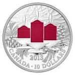 2013 $10 Fine Silver Coin – Holiday Candles