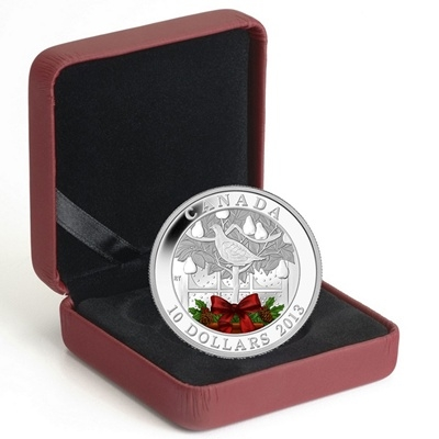 2013 $10 Fine Silver Coin – A Partridge in a Pear Tree