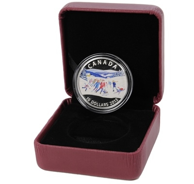 2013 $10 Fine Silver Coin – Winter Scene