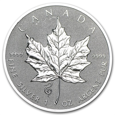 2013 1oz Silver Maple - SNAKE Privy