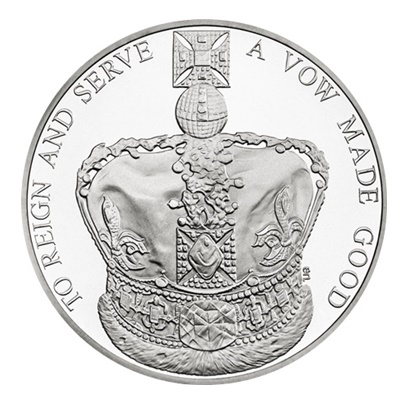 2013 £5 - QE II Coronation 60th Anniversary