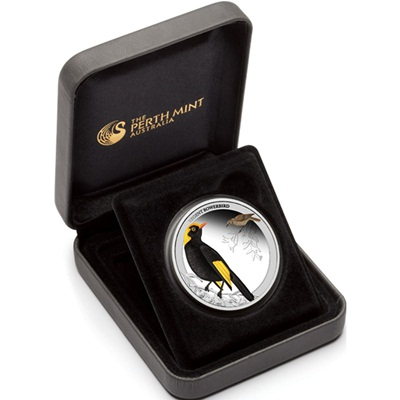 2013 1/2 oz Silver Proof - REGENT BOWERBIRD